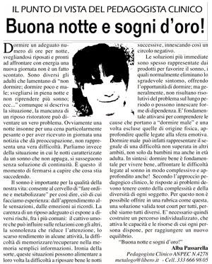 Buona Notte E Sogni Doro Studio Metalogo