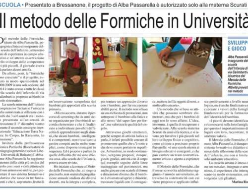 Il Metodo Delle Formiche all'Università